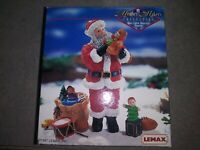 Vintage Lemax Memory Makers Collection Santa's Gift for Billy Village 77016