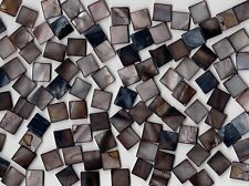 50g Dark Pearl S 1010 Square Mosaic Tile 10mmx10mmx2mm Border