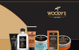 WOODY'S Quality Grooming Items HUGE VARIETY (Gel, pomade, spray, after shave...)