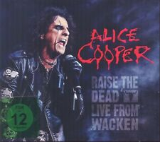 ALICE COOPER - RAISE THE DEAD-LIVE FROM WACKEN 2 CD + DVD NEU
