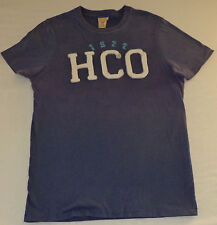 "Hollister Short Sleeve Blue T-Shirt  ""1972 HCO"" on Front     Medium      K#9556"