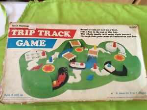 EPOCH  PLAYTHINGS TRIP AND TRACK GAME.JAPAN 1975
