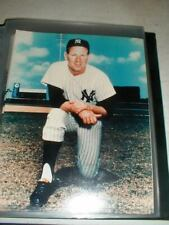 """Lot-28 New York Yankees WHITEY FORD Color 8""""x10"""" Photos for Autographs 3-Shots"""