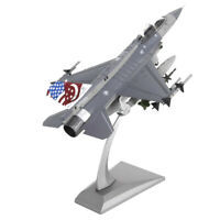 1:72 F16 Fighting Falcon Toy Model Diecast Jet Planes Model Table Desk Accs
