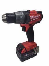 """Milwaukee Fuel 2704-20 M18 18V Brushless 1/2"""" Hammer Drill/Driver + 48-11-1850"""