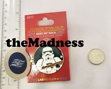 Disney Cruise Line Star Wars Day at Sea Limited Edition Pin 2017 Storm Trooper