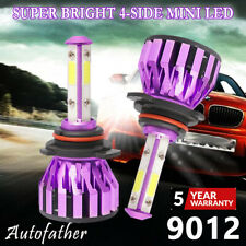 2x 9012 9006LED Bulbs Headlight Lamps Beam Replacement OEM 1555W 6000K White