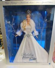 HOLIDAY VISIONS BARBIE - WINTER FANTASY - FIRST IN SERIES - NRFB