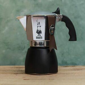 Bialetti Brikka Stovetop Espresso Maker 2 or 4 cup