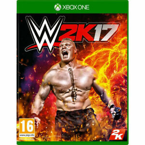 WWE 2K17 (Xbox One) PEGI 16+ Sport: Wrestling