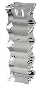Oleg Cassini Leuchter 18 cm Glas Kristall K9 Stabkerze