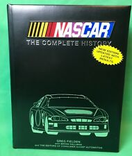 NASCAR The Complete History Hardback Book Greg Fielden Collectible Gift
