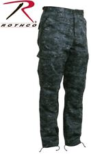 Midnight Digital Camouflage Military Tactical BDU Cargo Camo Pants Rotho 99660