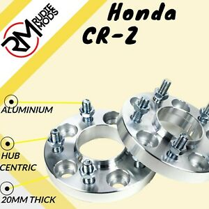 Honda CRZ CR-Z 5x114.3 64.1 20mm Hubcentric wheel spacers 1 pair - UK MADE