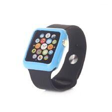 Coque de Protection Silicone TPU Pour Apple Watch 42mm - Bleu