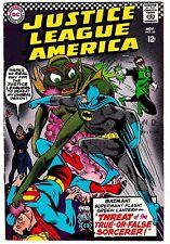 Justice League Of America #49 (Vf-) Batman! Green Lantern! Superman! Dc 1966