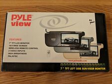 Pyle View Left 7 Inch Side Sun Visor Monitor For Car
