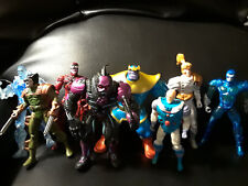 Marvel '90's Lot Figurines Toy Biz Thanos Xmen Iceman Mr. Freeze X Pro Shatter