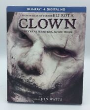Clown (Blu-ray+Digital HD, 2016) NEW w/ Slipcover: Eli Roth, Horror