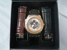 Techno Diezel Diamond And Stainless Steel Watch