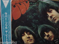 THE BEATLES Rubber Soul Rare Limited OBI TOSHIBA/EMI JAPAN PRESSED 2003 LP
