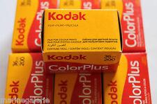 Lot 7 pellicules photo 200 36 poses couleur Kodak 24x36 non périmé neuf : 2020 !