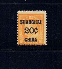 US K10  Shanghai China  Mint NH OG