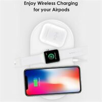 Qi Wireless Charger Receiver Silicone Shockproof Case Cover For Apple Airpods