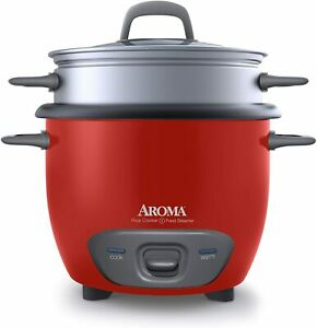 Aroma Rice Cooker and Food Steamer  14-Cup (Cooked) Pot Style   ARC-747-1NGR