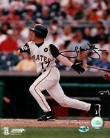 Jack Wilson Signed 8X10 Photo Autograph Pirates Home Swinging w/COA Auto