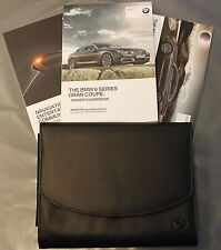 BMW 6 GRAN COUPE HANDBOOK NAVIGATION AUDIO OWNERS MANUAL 2012-2017 PACK E-176