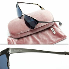 95a1061f8964 Blue Women s Miu Miu Sunglasses for sale