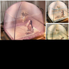 Mosquito Foldable Net Free Standing Double Doors Tent Canopy King Bed Netting