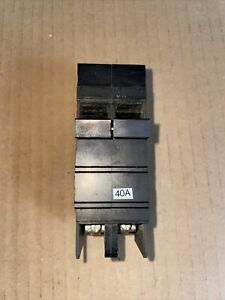 SQUARE D TYPE XO240 40 AMP, 2 POLE, CIRCUIT BREAKER CUTLER HAMMER Tested