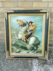 Napoleon Crossing The Alps Oil Painting By Brights Of Nettlebed