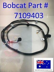 Rear Door Wiring Harness for Bobcat 7109403 T110 T140 T180 T190 T250 T300 T320