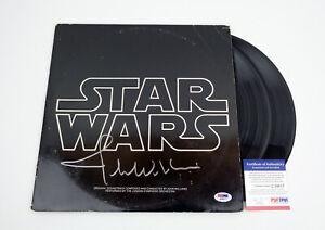 John Williams Signed Autograph Star Wars OST Soundtrack Vinyl Record PSA/DNA COA