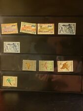 Tunisia Airmail Stamps Lot of 9 - MNH - see details for list