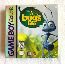 BUGS LIFE Nintendo Game Boy Advance NEW FACTORY SEALED H Seam RARE DISNEY PIXAR