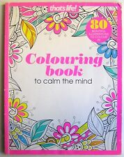That's Life Colouring Book To Calm The Mind (Paperback)
