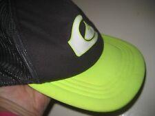 Youth QUIKSILVER Gray Neon Lime HAT Baseball Cap Mesh Trucker Snap Back 55cm Boy