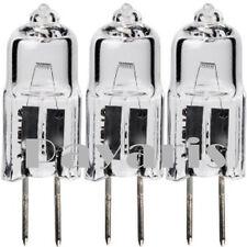 Lot of 6 10w Watt Clear Halogen Light Bulbs JC G4 12v Volt Bi-Pin Lighting