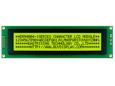 3.3V 40x4 Character LCD Modul Display mit Anleitung, HD44780, Hintergrundbeleuchtung, Arduino