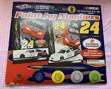 Nascar #24 Jeff Gordon Paint by Numbers Art Set Two Posters Pro Image Sports LLC