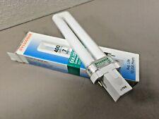 2 - Sylvania 20327 Delux S 7w GF7DS/827 G23 Base Compact Fluorescent Light Bulbs