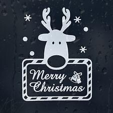 Feliz Navidad Queridos coche decal pegatina de vinilo