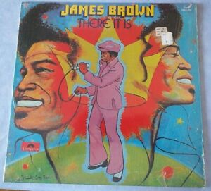 """LP James Brown """" there it is """" Polydor 2391033 German press 1972 MINT ! !"""