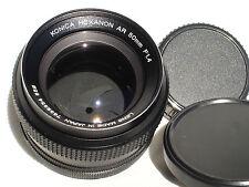 KONICA HEXANON AR 50mm f 1.4 prime lens  SN7632354