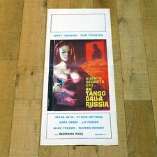 UN TANGO DALLA RUSSIA locandina poster Agente Segreto 070 Horror Seyna Seyn q35
