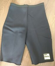 Zaggora Black Sports Slimming Hot Pants Workout Shorts L UK 14-16 LARGE